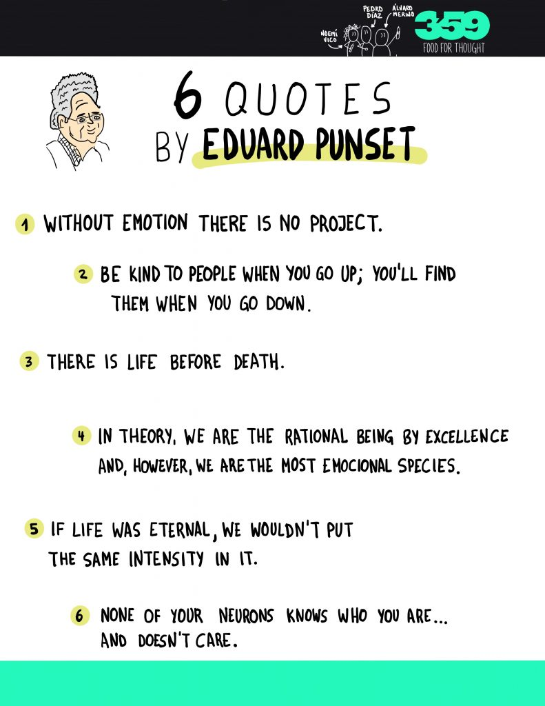inspiring quotes by Eduard Punset